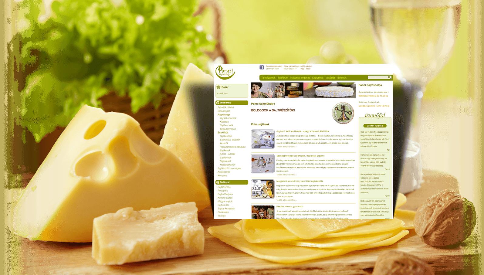 Házisajtkészítés - Panni sajtműhelye