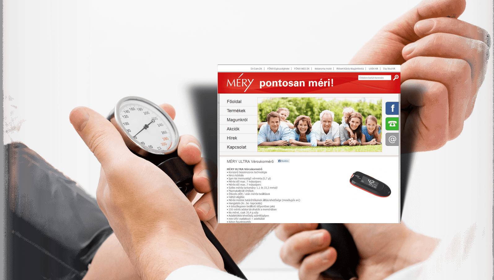 Méry vércukormérők webáruháza