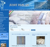 Tollpaplan és párna webáruház